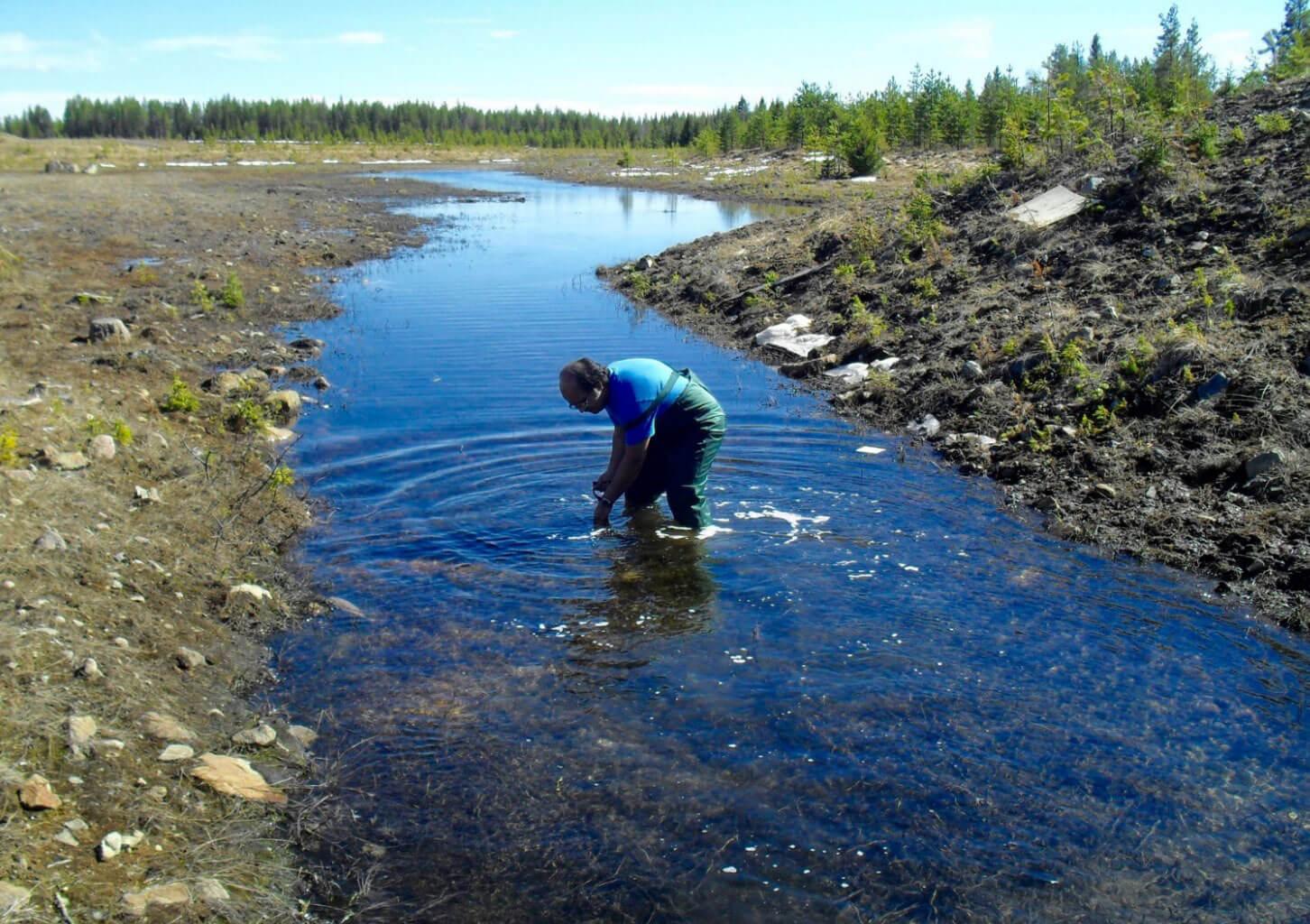 rening av arsenik i dricksvatten